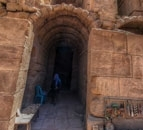 Tour 360° Petra old homes